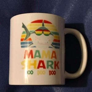 Other - Mama shark coffee mugs